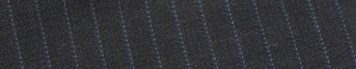 【E_9s224】チャコールグレー+6ミリ巾ライトブルーストライプ