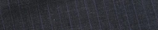 【E_9s228】チャコールグレー+5ミリ巾パープルストライプ