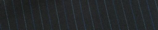 【E_9s231】ブラック+1cm巾ブルー・ライトブルー交互ストライプ