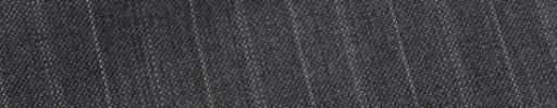 【E_9s234】ミディアムグレー+1.6cm巾交互ストライプ