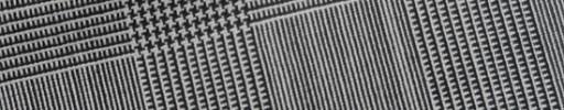 【E_9s275】白黒5.5×4.5cmグレンチェック