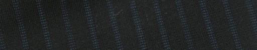 【E_9s287】ブラック+8ミリ巾ブルードットストライプ