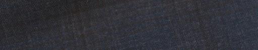 【E_9s311】ダークブルーグレー+5×4cmブラウンチェック