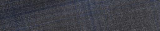 【E_9s312】ミディアムグレー+5×4cmブルーチェック