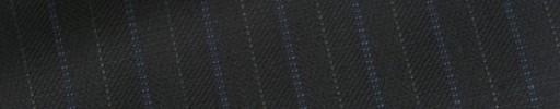 【E_9s322】ブラック柄+1.2cm巾ブルー・グレー交互ストライプ