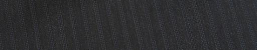 【E_9s518】チャコールグレー+5ミリ巾ライトブルードットストライプ