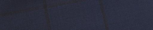 【E_9s541】ネイビー+5.5×4.5cm黒ウィンドウペーン