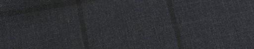 【E_9s542】チャコールグレー+5.5×4.5cm黒ウィンドウペーン