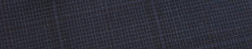 【E_9s543】ブルーグレー・黒ハウンドトゥース+6×4.5cm黒チェック・エンジチェック