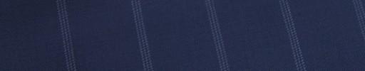 【E_9s561】ライトネイビー+2.5cm巾ライトブルーストライプ