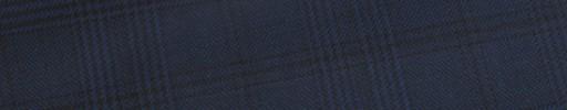 【E_9s565】ネイビーグレンチェック+6×5cmブラックペーン