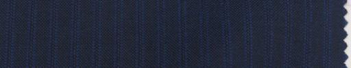 【Mp_9s34】ダークブルーグレー+7ミリ巾織り・ブルーストライプ
