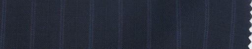 【Sp_9s02】ネイビー+1.2cmブルー・織り交互ストライプ