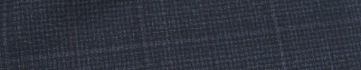 【Dol_9s12】ダークブルーグレー5×4.5cmウィンドウペーン+ブラックパープルプレイド