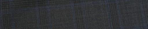 【Dol_9s13】チャコールグレー+3.5×2.8cmダークグレー・ブループレイド