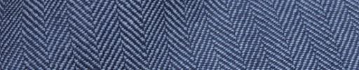 【Hs_sp9s45】ライトブルー×ネイビー1.2cm巾ヘリンボーン
