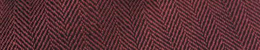 【Hs_sp9s54】ダークオレンジ×ブラック1.2cm巾ヘリンボーン