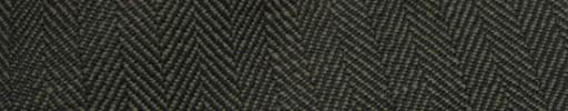 【Hs_sp9s59】グリーン×ブラック1.2cm巾ヘリンボーン