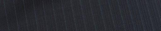 【Sy_9s10】ダークネイビー柄+6ミリ巾ブルーストライプ