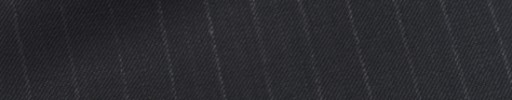 【Sy_9s24】ダークネイビー+1cm巾白・織り交互ストライプ