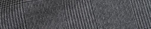 【Ca_91w042】グレー6.5×5.5cmグレンチェック