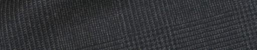 【Ca_91w043】ダークグレー6.5×5.5cmグレンチェック