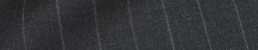 【Ca_91w048】チャコールグレー+1.6cm巾ストライプ