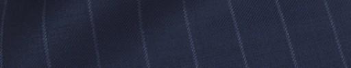 【Ca_91w049】ライトネイビー+1.6cm巾ストライプ