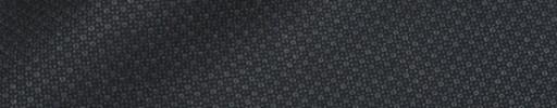 【Ca_91w058】チャコールグレー・黒ファンシー織りドット