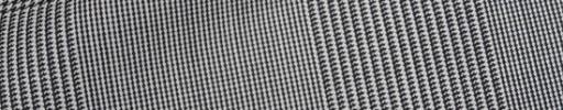 【Ca_91w067】白黒11.5×9cmグレンプレイド