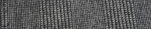 【Fb_w20】オフホワイト・黒7.5×5.5cmグレンチェック