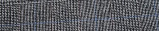 【Fb_w38】ホワイト・黒7.5×5.5cmグレンチェック+エンジ・薄青ペーン
