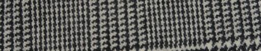 【Fb_w40】白黒8.5×6cmグレンプレイド