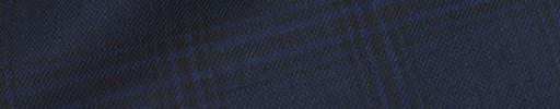 【Hre_9w15】ネイビー+5.5×4cm黒・ブルーチェック