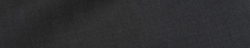 【Hre_9w20】ブラック1cm巾ヘリンボーン