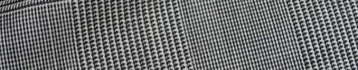【Hre_9w23】白黒10×7cmグレンプレイド