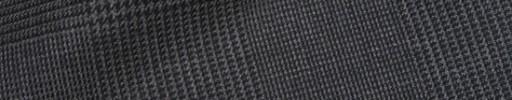 【Hre_9w24】グレー黒10×7cmグレンプレイド