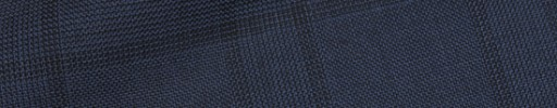 【Hre_9w36】ネイビーグレンチェック+7.5×5.5cmブラックペーン