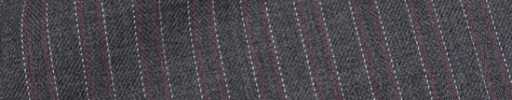 【Hre_9w43】ミディアムグレー柄+赤・白ストライプ