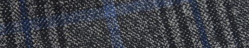 【Hs_m9w02】グレー+8×6.5cm黒・ブルー・ライトグレーチェック
