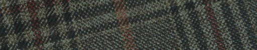 【Hs_m9w03】モスグリーン+8×6.5cmグリーン・茶・ライトグリーンチェック