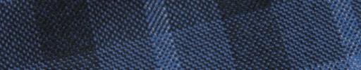 【Hs_m9w09】ブルー+6.5×5cm黒・ライトブルーチェック