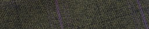 【Hs_m9w14】グリーンプラウン+6.5×5cm黒・パープルチェック