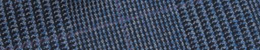 【Hs_m9w23】ブルーグレンチェック+8×6.5cmパープルペーン