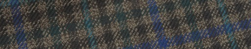 【Hs_m9w30】グリーンミックスガンクラブチェック+6×5cmブルー・グリーンペーン