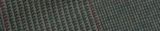 【Hs_m9w31】グリーン13×11cmグレンプレイド+赤茶ペーン