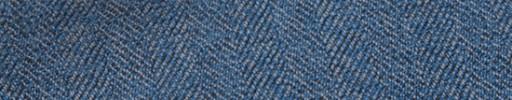 【Hs_m9w36】ライトブルー1.7cm巾ヘリンボーン