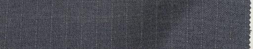 【Lan_9w04】ミディアムグレー+8ミリ巾白ストライプ