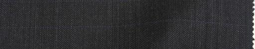 【Lan_9w07】チャコールグレー+5×4cm織りチェック