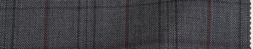 【To_9w03】グレー+5×4cm黒・赤茶プレイド